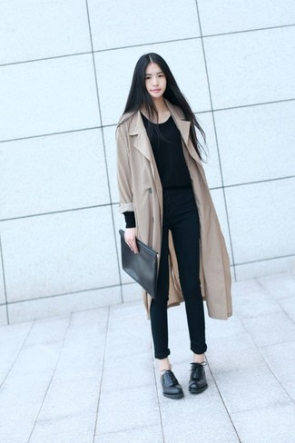 fa90c6d8964 Missguided Tall Camel Brown Faux Wool Duster Coat, $102 | Missguided ...