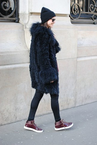 Tucker Wubby Faux Fur Coat