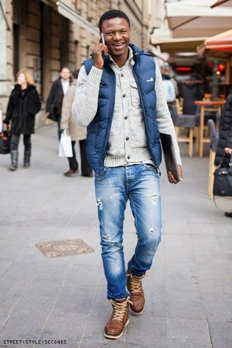 Clark Slim Straight Leg Jeans