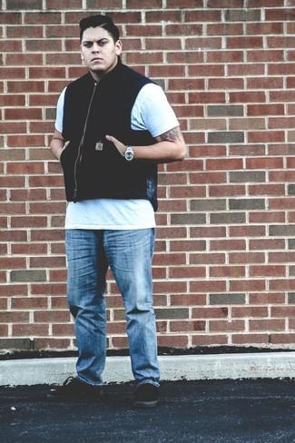 Zipped Up Vest
