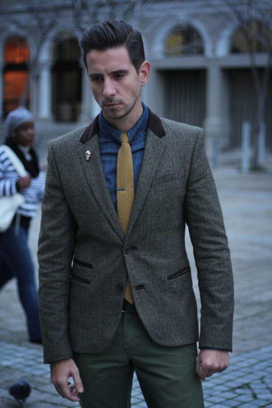 Men s Grey Blazer 40bc1260b1e51