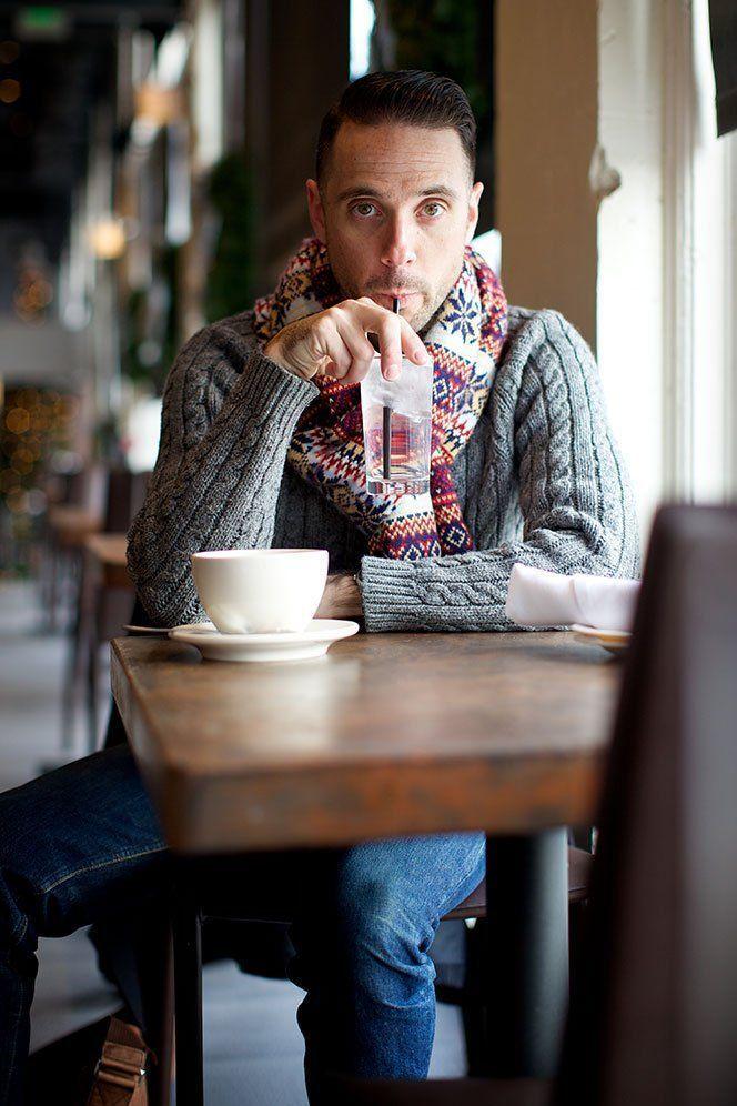 How to Wear a Fair Isle Scarf (2 looks) | Men's Fashion