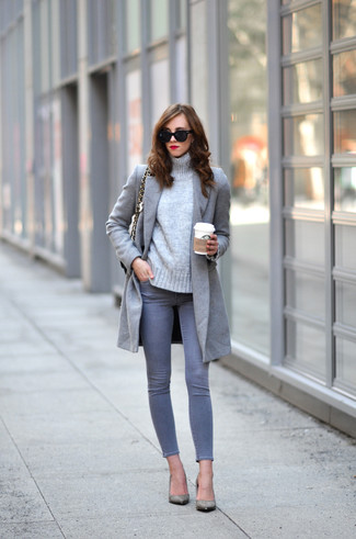 Faux Crystal Embellished Sweater