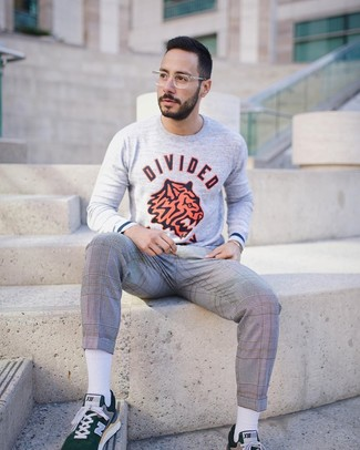 21 Fox Print Sweatshirt