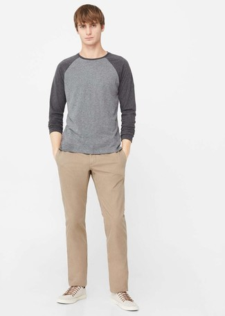 cropped slim chinos