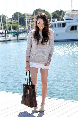 6da8ea3fc76 Tommy Hilfiger Classic White Denim Skirt