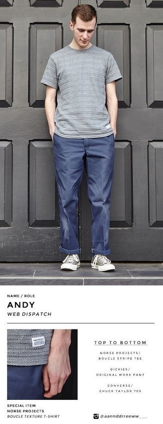 Grey Shoes Hot Weather Outfits For Men