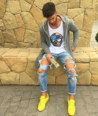 d8e7bfc8fcab How to Wear Yellow Low Top Sneakers For Men (24 looks   outfits ...