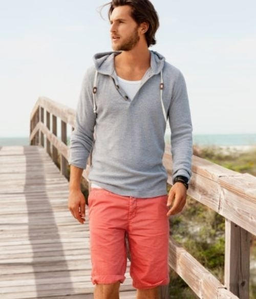 How to Wear Red Shorts (25 looks) | Men's Fashion