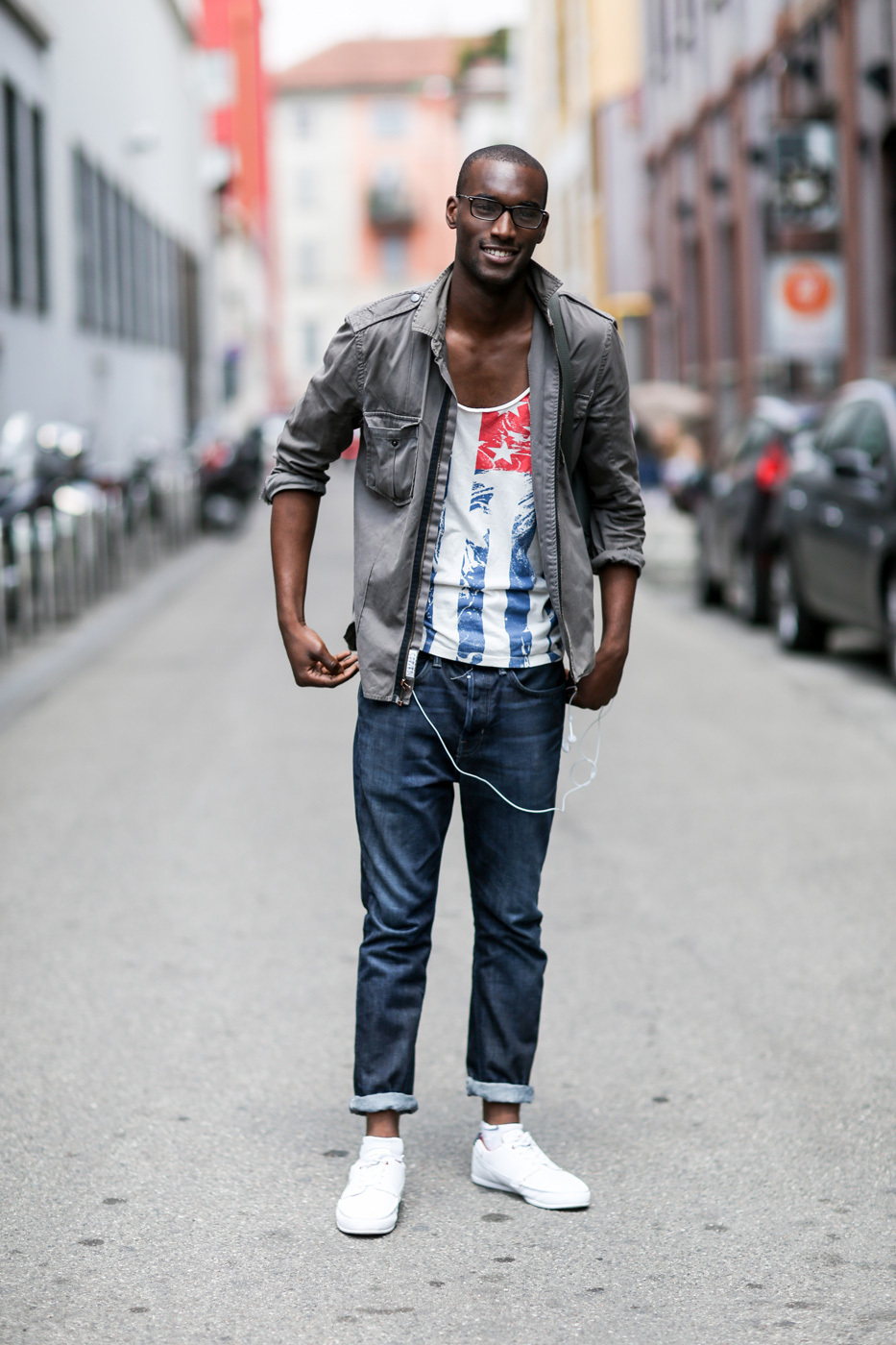 How to Wear a Grey Military Jacket (5 looks) | Men's Fashion