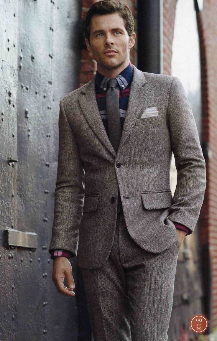 How To Wear a Grey Suit With a Navy Dress Shirt | Men's Fashion