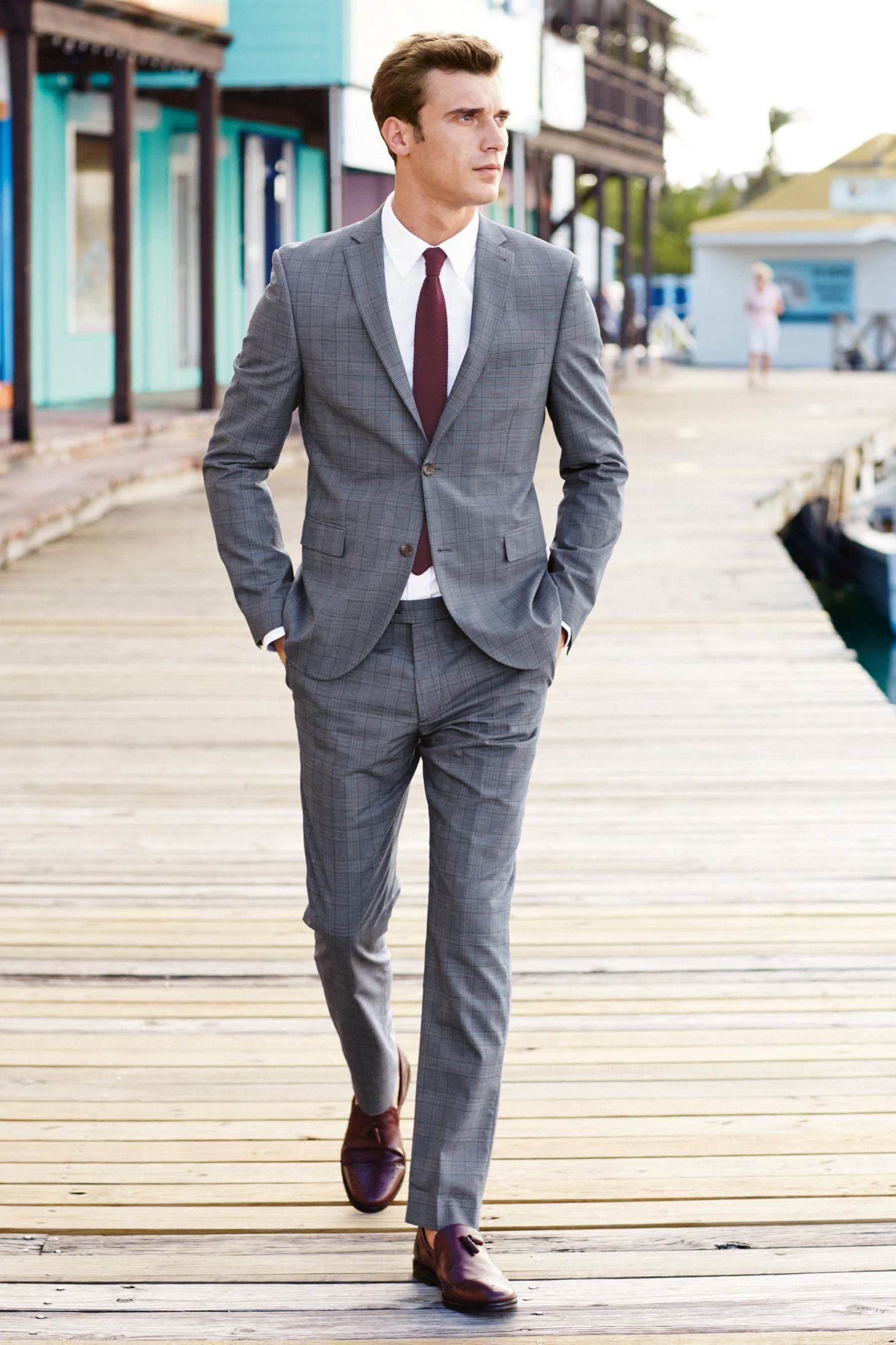 How to Wear a Grey Plaid Suit (51 looks) | Men's Fashion
