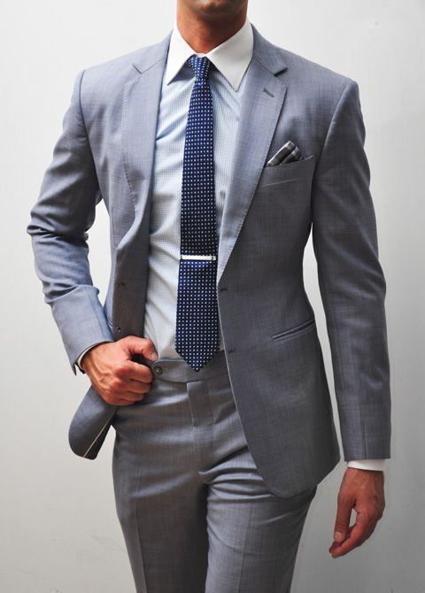 How to Wear a Grey Suit (428 looks) | Men's Fashion