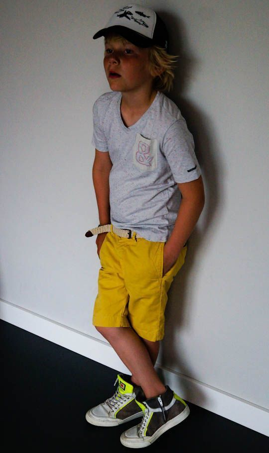 f03cefd0d0 How to Wear Yellow Shorts For Boys (3 looks & outfits)   Boys ...