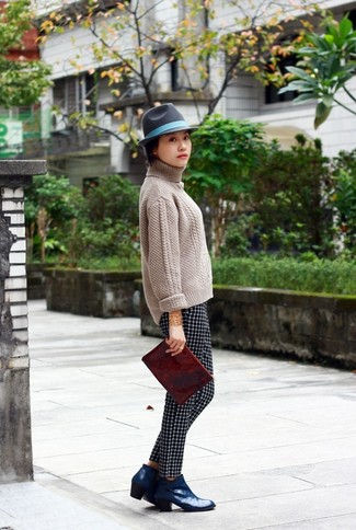 What To Wear With Blue Ankle Boots