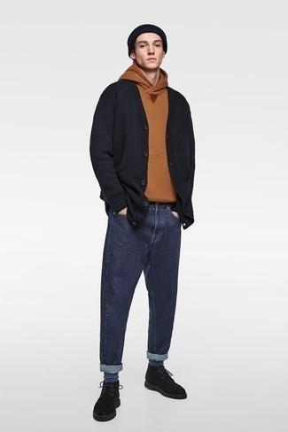 Indigo Futuristic F Jeans