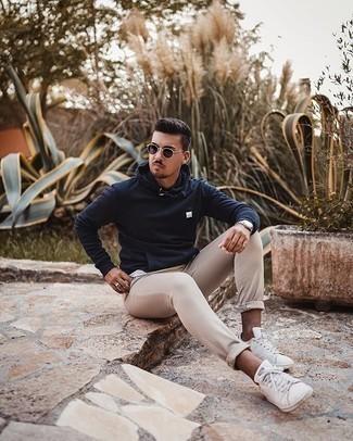 Straight Leg Alpha Khaki Pants