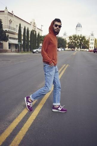 Purple Shoes Outfits For Men (200 ideas