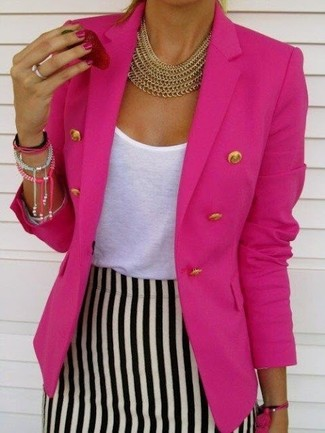 Edition Double Breasted Blazer