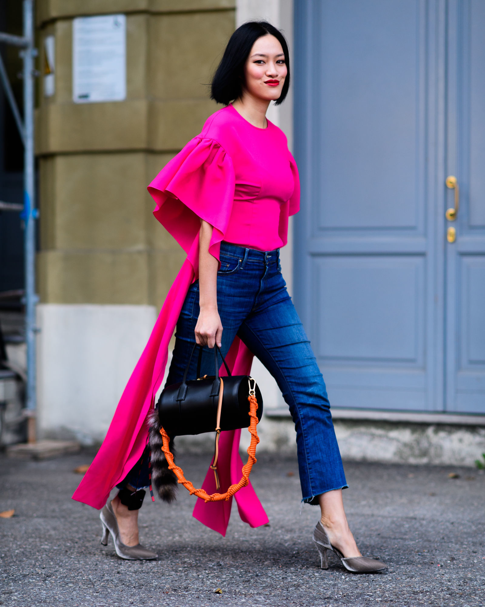 ce1fe9860de75 How to Wear a Hot Pink Blouse (106 looks   outfits)