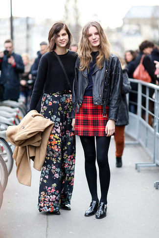 How to Wear a Red Plaid Skirt (25 looks) | Women's Fashion