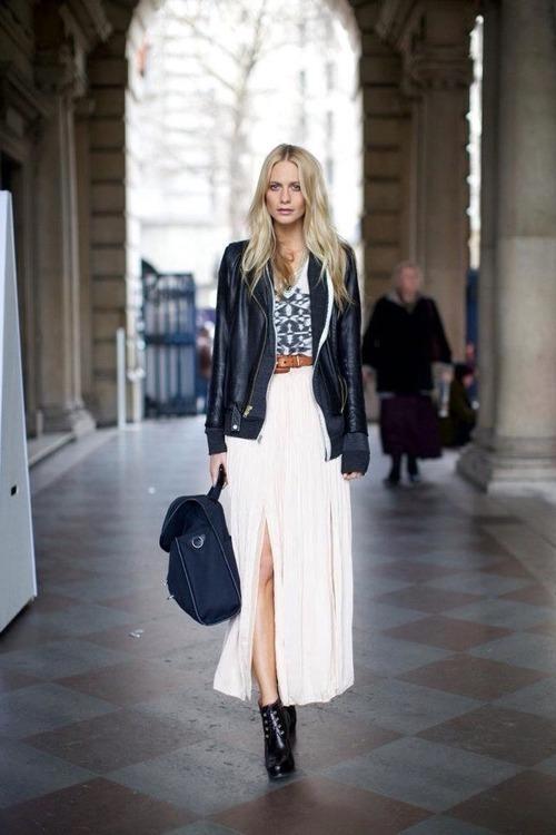 s black leather jacket white and black geometric