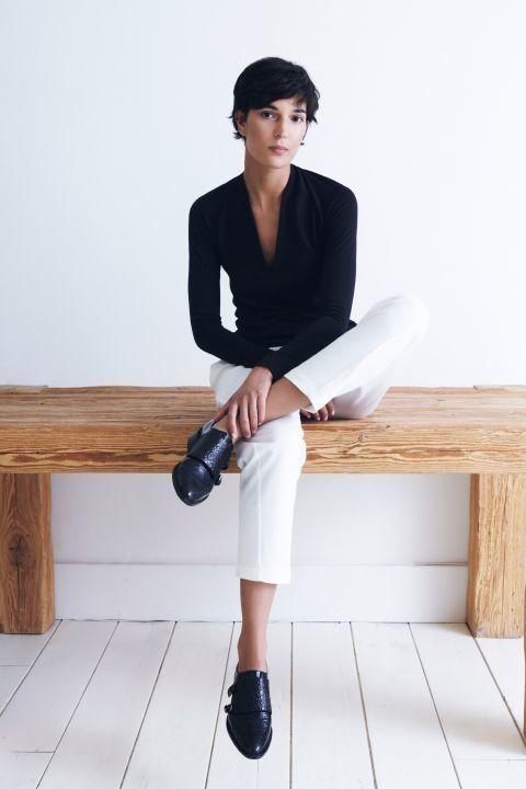 Combinar Un Blanco 40 Vestir De Moda Moda Pantalón Looks Cómo FqAgw4dxF