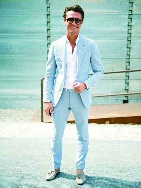 How to Wear a Light Blue Blazer (68 looks) | Men's Fashion