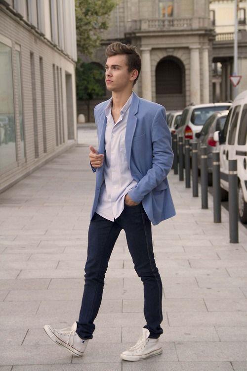 How to Wear a Light Blue Blazer (71 looks) | Men's Fashion