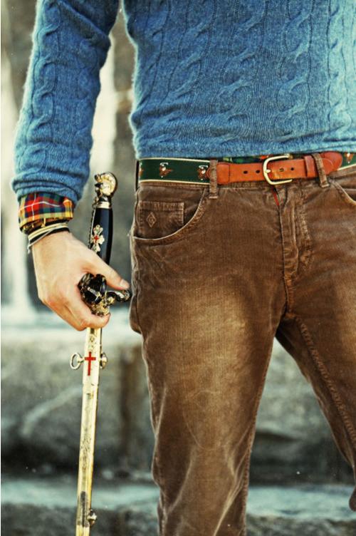 Brown Corduroy Jeans | Men's Fashion