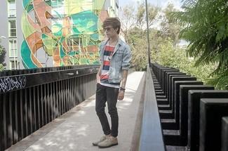 Oversized Striped T Shirt