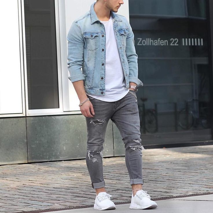 What shoes go with light grey jeans style guru fashion for Skinny jeans with shirt