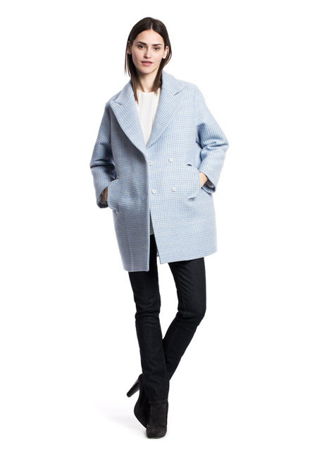 How To Wear a Pea Coat With Black Jeans | Women's Fashion