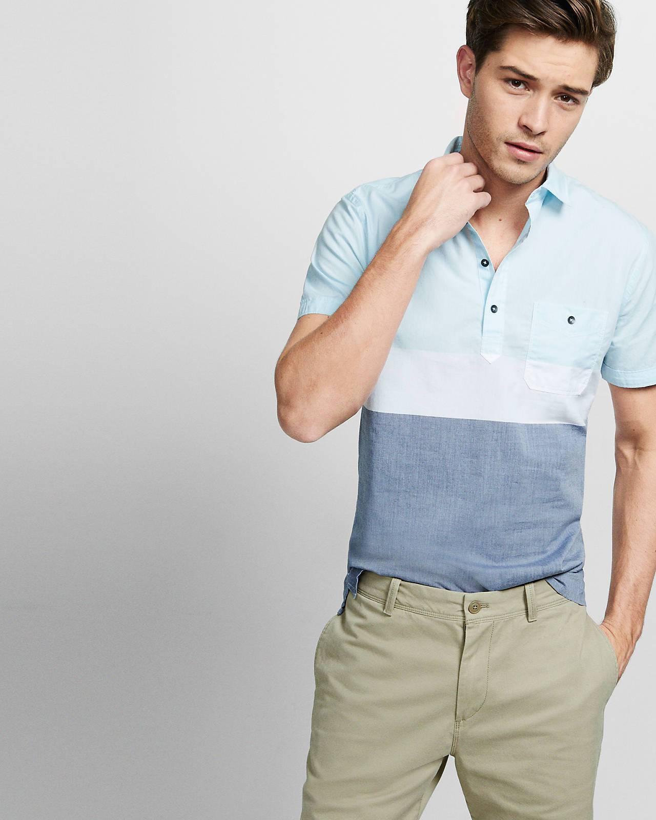 526f49e8f Grey Polo Shirt And Khaki Pants