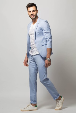 6c8457d3b0a4 ... Men s Light Blue Suit