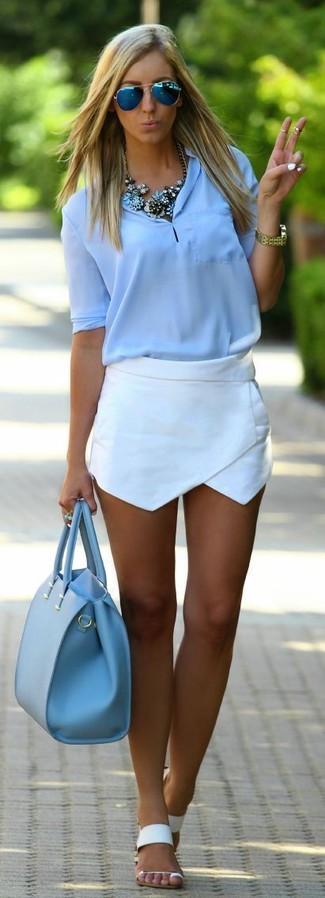 cross pattern shorts