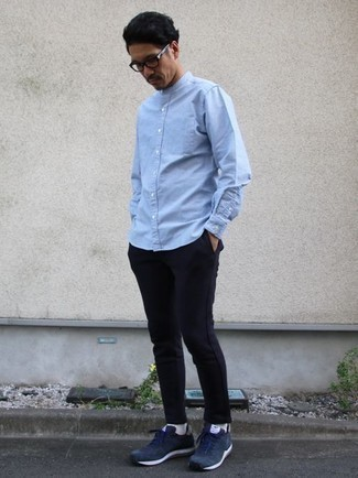 Solid Button Front Woven Shirt