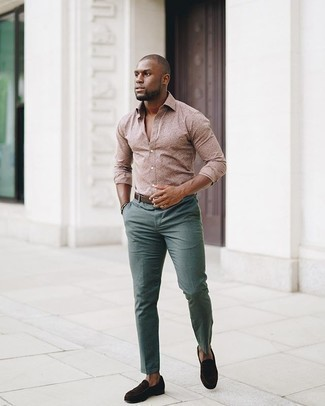 With what green chinos goes What Color