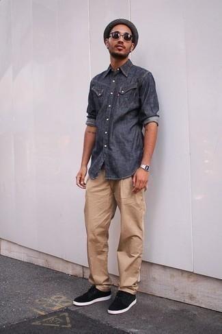 Regular Plain Front Traditional Fit Original Chino Pants