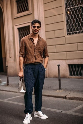 Mini Check Long Sleeve Shirt