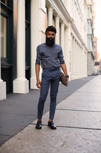 Blue Oxford Shoes Outfits (57 ideas