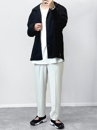 Stretch Cotton Poplin Dean Dan Shirt
