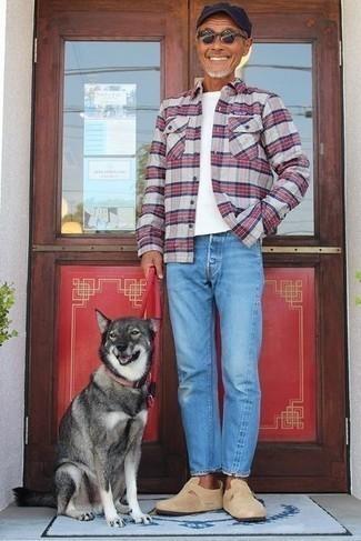 Rugger Madras Plaid Sport Shirt Slim Fit