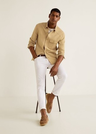 The Matchbox Slim Straight Jean In White