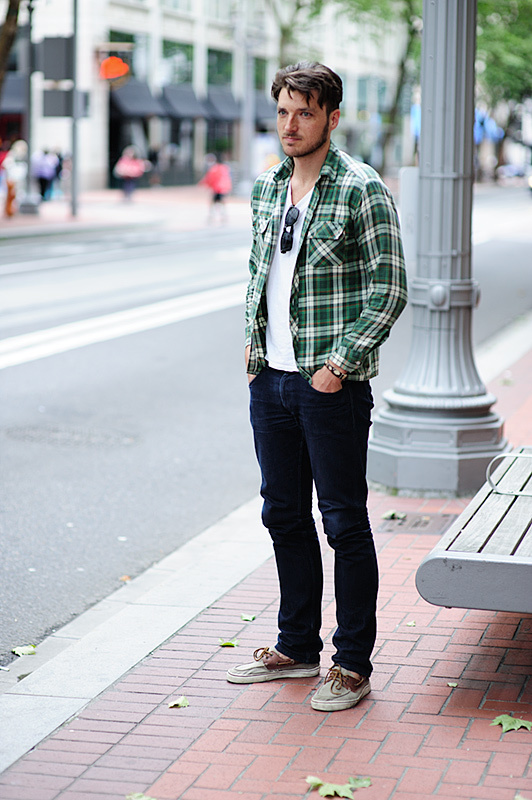 Which Jeans To Wear With Brown Leather Boat Shoes | Men's Fashion