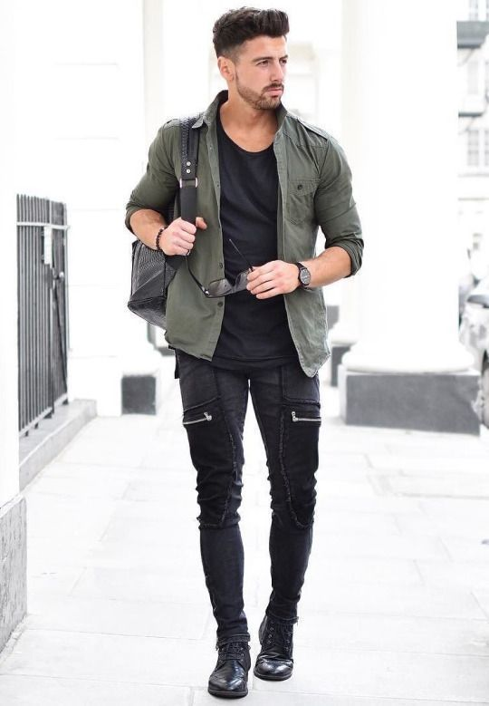 What shoes to wear with black skinny jeans male style for Skinny jeans with shirt