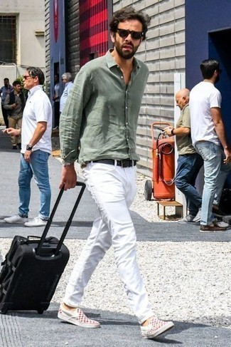 Protege Straight Leg White Jeans