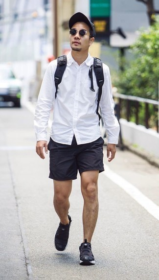 Which Shorts To Wear With Black Athletic Shoes For Men (11 looks ...