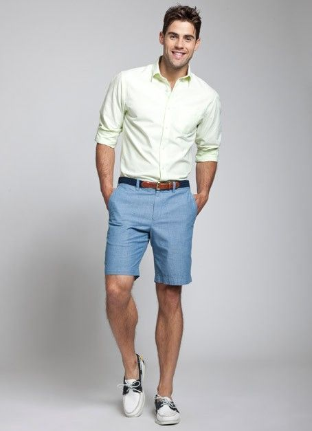 How to Wear Blue Shorts (120 looks) | Men's Fashion