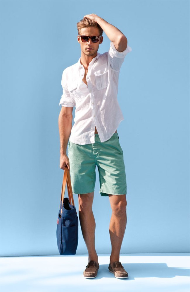 How to Wear Mint Shorts (25 looks) | Men's Fashion